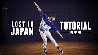 Shawn Mendes - Lost In Japan - Dance Tutorial - [Preview] Choreography by Jake Kodish - #TMillyTV