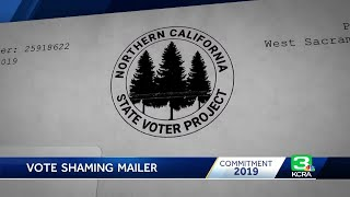 Investigation underway into mystery mailer that 'vote-shames' NorCal voters