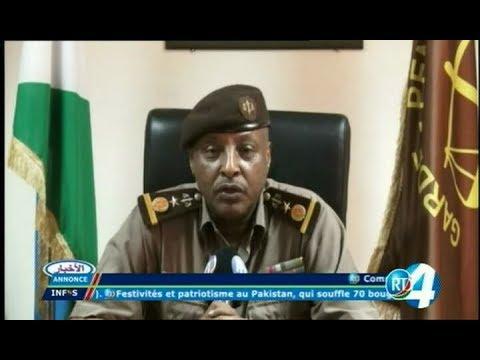 Télé Djibouti Chaine Youtube : JT Français du 14/08/2017
