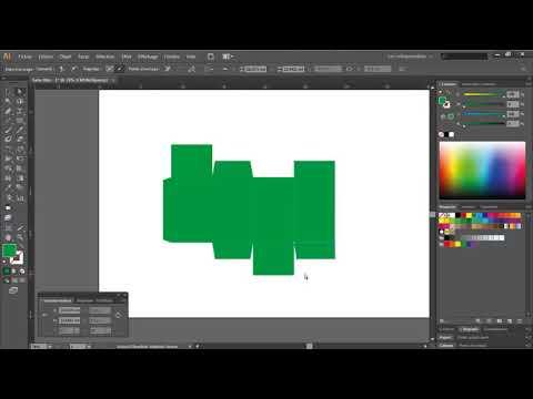 [5 PHÚT] Hướng dẫn thiết kế hộp giấy bằng Illustrator
