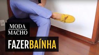Como Fazer Baínha de Calça Jeans ou Social em 2min, Moda para Macho