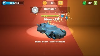 NEW Crash of Cars Epic Rumbler Car and CASTLE Map Gameplay