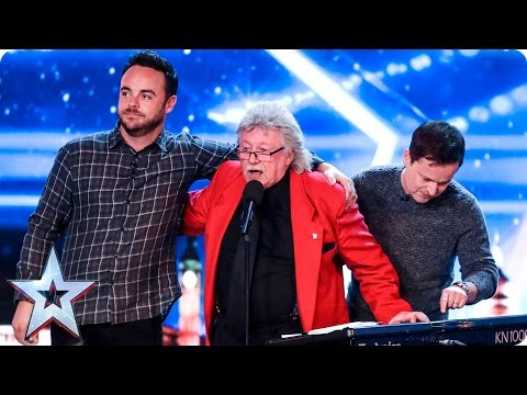 Not even 4 buzzers and Ant can stop Mal Ford | Auditions Week 5 | Britain's Got Talent 2017