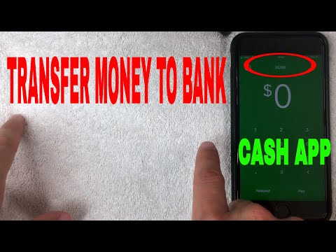 ✅  How To Transfer Money From Cash App To Bank Account 🔴