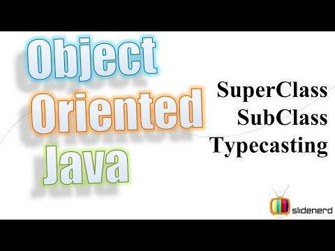 55 Java Superclass Subclass Typecasting |