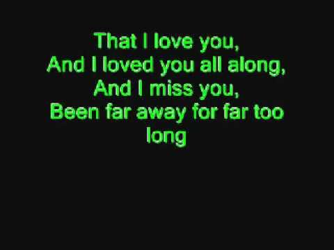 Nickelback- Far Away With Lyrics