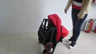Jetem Micro прогулочная коляска(Новинка от Jetem, новая компактно складывающаяся прогулочная коляска., 2016-05-14T12:06:40.000Z)