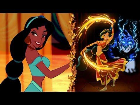 Disney Princesses in AVATAR: The Last Airbender!