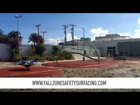 The Greene School Playground Safety Surface West Palm Beach Florida FallZone Safety Surfacing