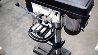 Обзор сверлильного станка (Bench Drilling Machine) JED JDP-15