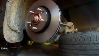 Замена тормозных дисков и колодок Kia Soul своими руками Видео отчет
