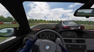 BMW M3 on Nürburgring GP in BMW M3 Challenge: From Zero to Hero (Cockpit Gameplay + Replay)