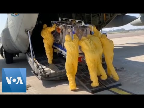 Italian Military Airlifts Coronavirus Patients