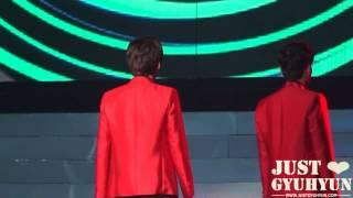 [JustGyuhyun]120826 MO.A Concert Super Man Focus Gyuhyun