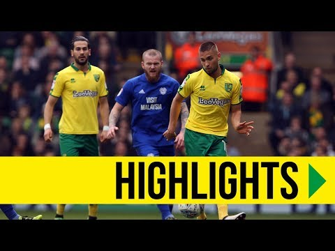 HIGHLIGHTS: Norwich City 0-2 Cardiff City
