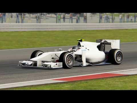 Assetto Corsa - Formula RSS 2 vs. Formula Hybrid 2017