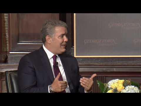 Iván Duque Márquez on The Policy Agenda for Latin America
