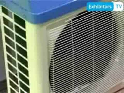 Solar Hybrid Air Conditioner by Jiangsu Sunchi New Energy Co - China (Exhibitors TV at WFES 2014)