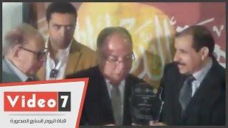 بالفيديو.. الاتحاد العالمى للشعراء يكرم وزير الثقافة والأمير بدر عبد المحسن