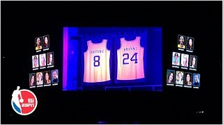Clippers Honor Kobe Bryant In Staples Center With Emotional Ceremony | Nba On Espn