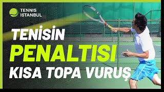 Tenisin Penaltısını Kaçırma! Kısa Top Nasıl Öldürülür ve Puana Gidilir? Kısa Top Vuruşu Dersi