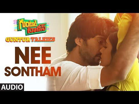 """Nee Sontham Full Song (Audio)    """"Guntur Talkies""""    Siddu Jonnalagadda, Rashmi Gautam"""