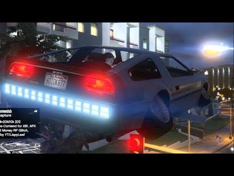 GTA 5 DOOMSDay Update! w/Crew Flying Deluxo ( Delorean ) LOL