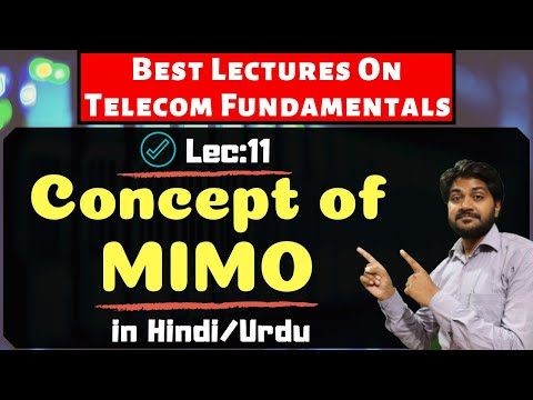 MIMO Concept in Telecom-Hindi/Urdu Bhupinder Rajput