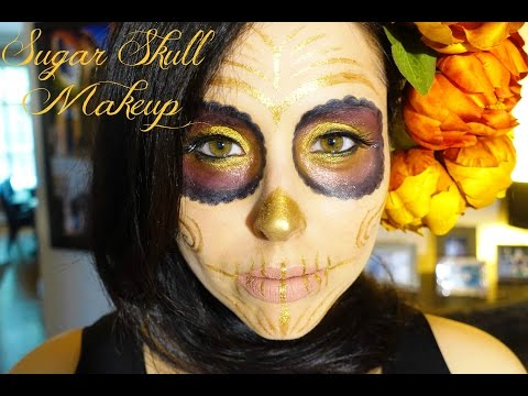 sugar-skull-makeup-tutorial---halloween-2016