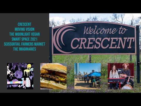 Crescent, Moonlight Vegan, The Imaginaries - April 2021 Uncovering Oklahoma