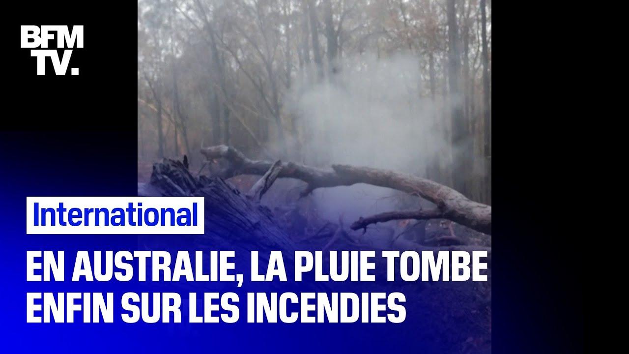 En Australie La Pluie Tombe Enfin Sur Les Incendies Youtube