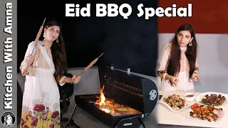 Eid Mubarak | BBQ Special Recipes | Kitchen With Amna