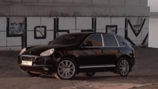 Обзор живого Порше Кайен С(Porsche Cayenne)ДПС, покатушки