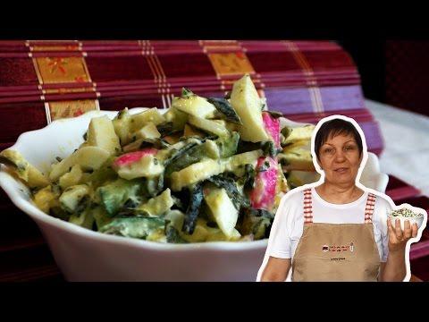 Салат с морской капустой, рецепты с фото на RussianFood