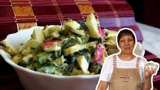 Вкусный салат  с морской капустой МОРЕХОДКА. ВКУСНОЕ МЕНЮ. Пошаговое приготовление