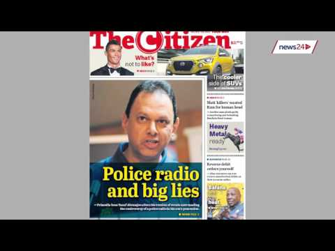 11 November   NEWSPAPERS: Madonsela feels financial pinch, water crisis & more