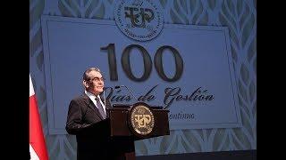 Rector de la UTP presenta Informe de los primeros 100 días