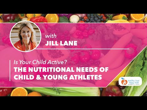 SPORTS NUTRITION FOR STUDENT ATHLETES: JILL LANE - 4 Questions - Healthy Food Happy Kids Summit