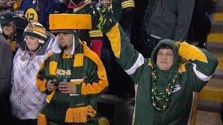 Detroit Lions vs Green Bay Packers at Lambeau Field Fight Song
