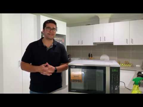 Concierge Member Daniel Reviews The Sharp Convection Microwave