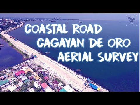 Coastal Road Cagayan de Oro September 2017 Aerial Survey 4K