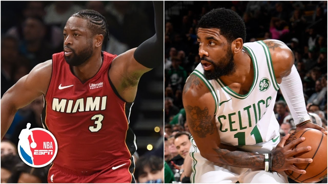 Kyrie Irving spoils Dwyane Wade's final game in Boston with 5-point Celtics win | NBA Highlights