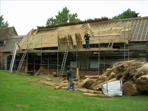 Thatch Roof Construction