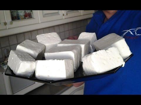 Homemade cheese How to make feta chesse