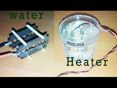 How to make water heater at home