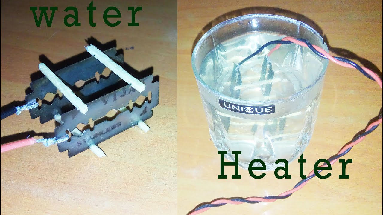 How to make water heater at home - YouTube