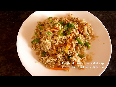 how to make spicy fried rice at home