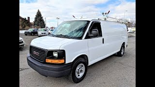 1 Owner 2012 GMC Savana Chevrolet Express 2500 Extended Cargo Van at Jeff Benson Car Company!