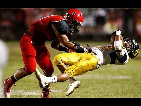 || Hardest Hits In Highschool Football Part 2 ||