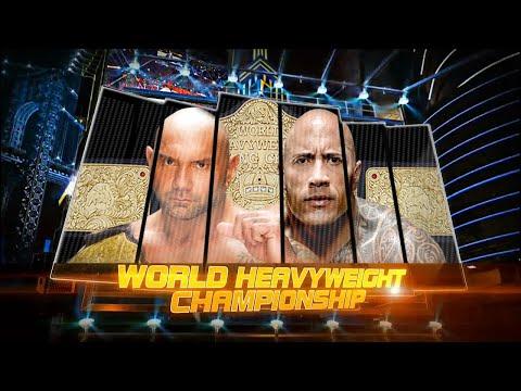 WWE 2K15 | The Rock vs. Batista...